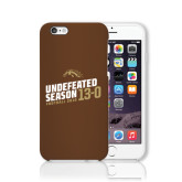 iPhone 6 Phone Case-Undefeated Season Football 2016
