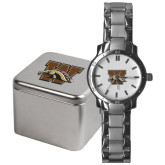 Mens Stainless Steel Fashion Watch-W w/ Bronco