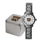 Ladies Stainless Steel Fashion Watch-W w/ Bronco