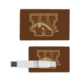 Card USB Drive 4GB-W w/ Bronco