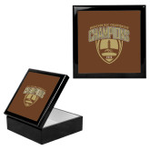Ebony Black Accessory Box With 6 x 6 Tile-2016 Marathon MAC Football Champions