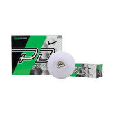 Nike Power Distance Golf Balls 12/pkg-WMU w/Bronco Head