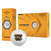 Callaway Warbird Golf Balls 12/pkg-W w/ Bronco