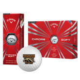 Callaway Chrome Soft Golf Balls 12/pkg-W w/ Bronco