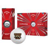 Callaway Chrome Soft Golf Balls 12/pkg-W w/ Bronco