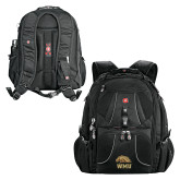 Wenger Swiss Army Mega Black Compu Backpack-WMU w/ Bronco Head