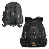 Wenger Swiss Army Mega Black Compu Backpack-WMU w/ Bronco Head