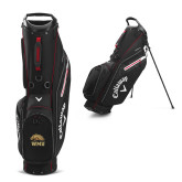 Callaway Hyper Lite 5 Black Stand Bag-WMU w/ Bronco Head