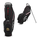 Callaway Hyper Lite 5 Black Stand Bag-WMU w/ Bronco Head