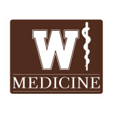 Small Decal-W Medicine, 6 inches wide
