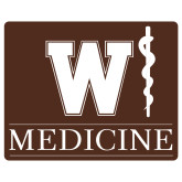Extra Large Decal-W Medicine, 18 inches wide