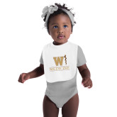 White Baby Bib-W Medicine