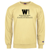 Champion Vegas Gold Fleece Crew-Vertical Logo