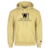 Champion Vegas Gold Fleece Hoodie-Vertical Logo