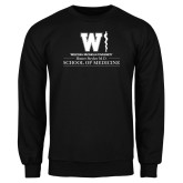 Black Fleece Crew-Vertical Logo