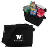 Six Pack Black Cooler-W Medicine