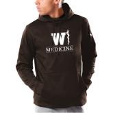 Under Armour Brown Armour Fleece Hoodie-W Medicine