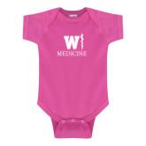 Fuchsia Infant Onesie-W Medicine