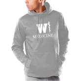 Under Armour Grey Armour Fleece Hoodie-W Medicine