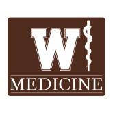 Medium Magnet-W Medicine, 8 inches wide