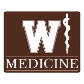 Large Magnet-W Medicine, 12 inches wide