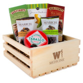 Wooden Gift Crate-W Medicine Engraved