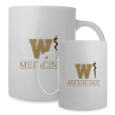 Full Color White Mug 15oz-W Medicine