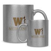 Full Color Silver Metallic Mug 11oz-W Medicine
