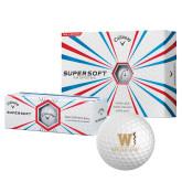 Callaway Supersoft Golf Balls 12/pkg-W Medicine