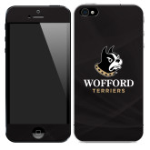 iPhone 5/5s/SE Skin-Wofford Terriers w/ Terrier