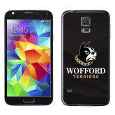 Galaxy S5 Skin-Wofford Terriers w/ Terrier