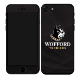 iPhone 7/8 Skin-Wofford Terriers w/ Terrier