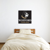 2 ft x 2 ft Fan WallSkinz-Wofford Terriers w/ Terrier