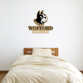 3 ft x 3 ft Fan WallSkinz-Wofford Terriers w/ Terrier