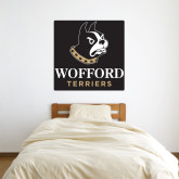 3 ft x 3 ft Fan WallSkinz-Wofford Terriers w/ Terrier