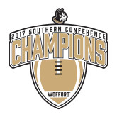 Medium Decal-2017 Football Champions Vertical Football