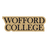 Large Decal-Wofford College Stacked, 12 inches tall