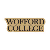 Small Decal-Wofford College Stacked