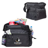 All Sport Black Cooler-Wofford Terriers w/ Terrier