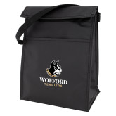 Koozie Black Lunch Sack-Wofford Terriers w/ Terrier