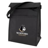 Koozie Black Lunch Sack-Wofford Terriers w/ Terrier