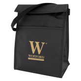 Black Lunch Sack-W Wofford