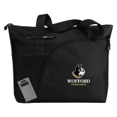 Excel Black Sport Utility Tote-Wofford Terriers w/ Terrier