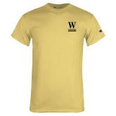 Champion Vegas Gold T Shirt-W Wofford