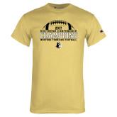 Champion Vegas Gold T Shirt-2017 Football Champions - Football