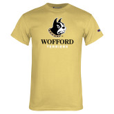 Champion Vegas Gold T Shirt-Wofford Terriers w/ Terrier
