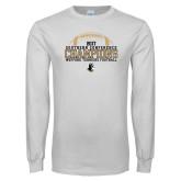 White Long Sleeve T Shirt-2017 Football Champions - Football