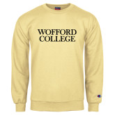 Champion Vegas Gold Fleece Crew-Wofford College Stacked