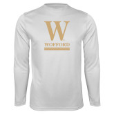 Syntrel Performance White Longsleeve Shirt-W Wofford