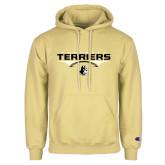 Champion Vegas Gold Fleece Hoodie-Terriers Football Flat w/ Football